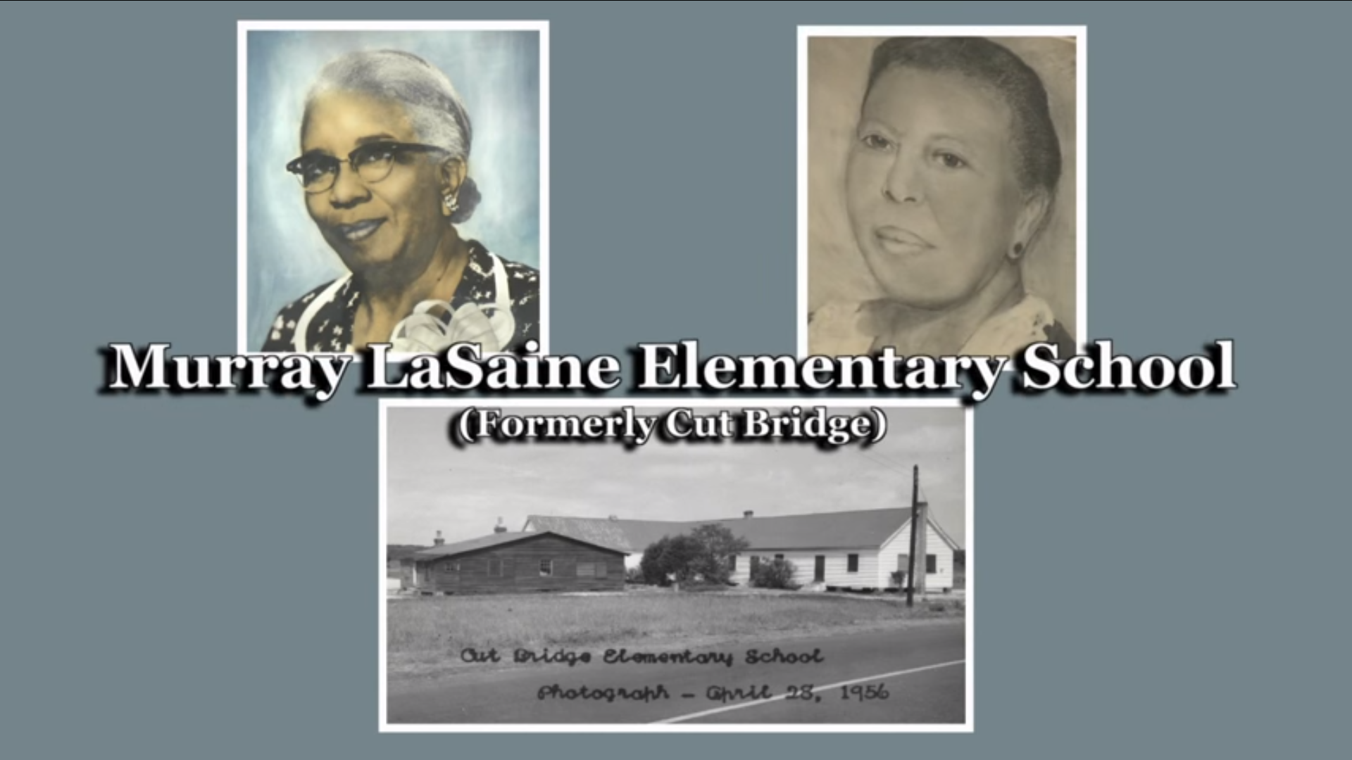 Dedication Day - Murray-LaSaine Elementary School